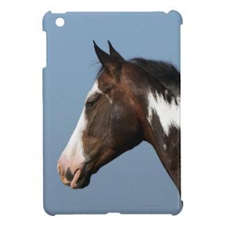 Pinte el Headshot 1 del caballo iPad Mini Funda