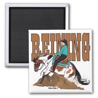 Pinte el imán cuadrado del caballo que contiene
