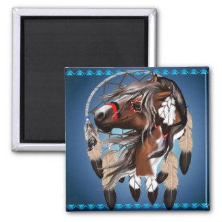 Pinte el imán de Dreamcatcher del caballo