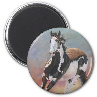 pinte el imán del caballo