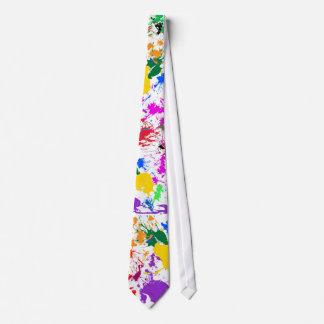 Pinte el lazo de Splat Corbatas Personalizadas