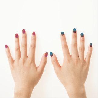 Pinte el lío para los clavos stickers para uñas