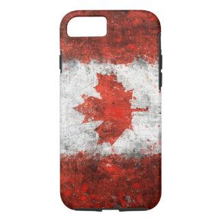 Pinte la bandera del canadiense de la salpicadura funda iPhone 7