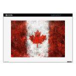 Pinte la bandera del canadiense de la salpicadura calcomanías para 38,1cm portátiles