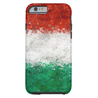 Pinte la bandera del italiano de la salpicadura funda de iPhone 6 tough