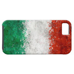Pinte la bandera del italiano de la salpicadura iPhone 5 Case-Mate cárcasas