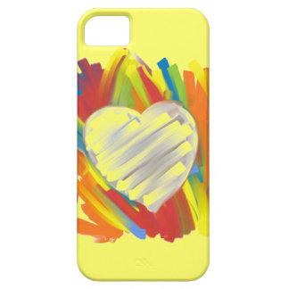 Pinte la caja artística colorida del iphone 5 de iPhone 5 fundas
