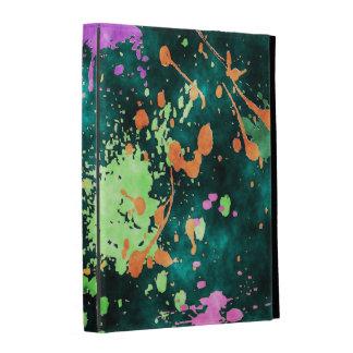 PINTE la caja del folio del iPad de las SALPICADUR