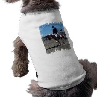 Pinte la camisa del mascota de la demostración del camisetas mascota