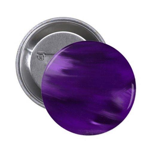pinte la explosión en púrpura pin redondo 5 cm