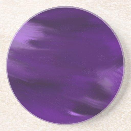 pinte la explosión en púrpura posavasos cerveza