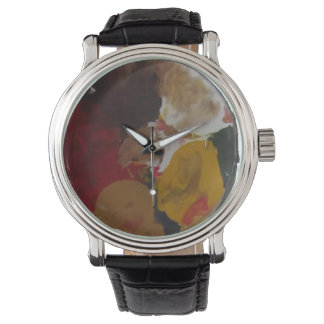 Pinte la impresión del reloj de ilustraciones