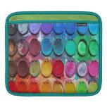 Pinte la manga del iPad de la caja de color Fundas Para iPads