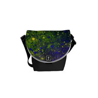 Pinte la mini bolsa de mensajero de la salpicadura bolsas de mensajería