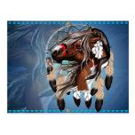 Pinte la postal de Dreamcatcher del caballo