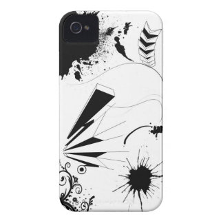 pinte la salpicadura iPhone 4 Case-Mate cárcasa
