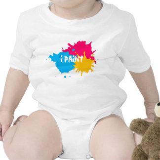 Pinte la salpicadura trajes de bebé