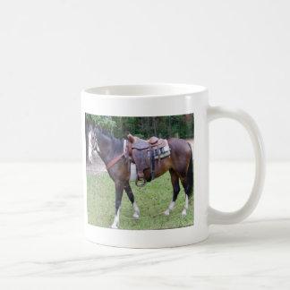 Pinte la taza del caballo