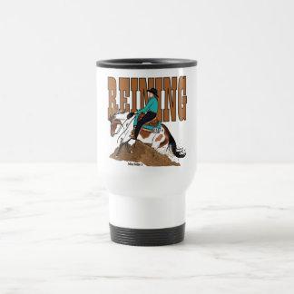 Pinte la taza del viaje del caballo que contiene