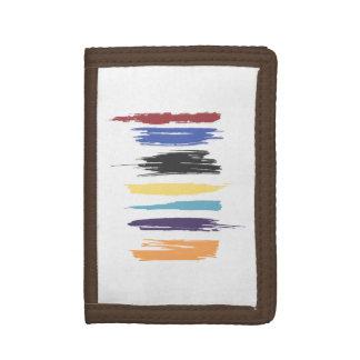 Pinte las rayas abstractas artísticas del color de