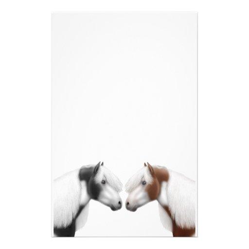 Pinte los efectos de escritorio de los amigos del  papelería de diseño
