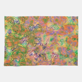 Pinte los remolinos toallas de cocina