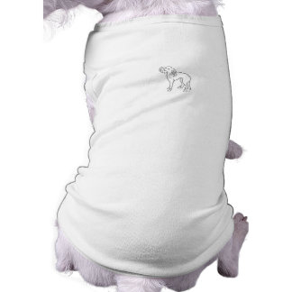 Pinte su propia ropa con cresta china del mascota ropa para mascota