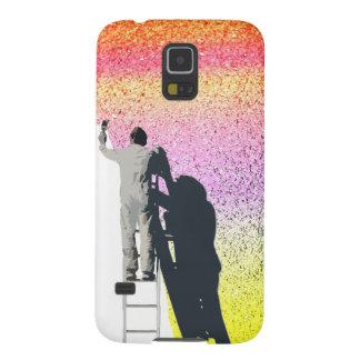 Pinte un personalizar del arco iris añadiendo su funda de galaxy s5