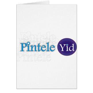 Pintele Yid Greeting Card