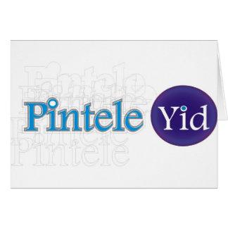Pintele Yid Tarjeta De Felicitación