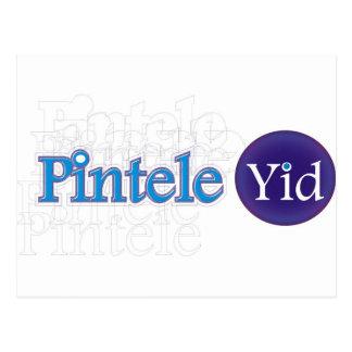 Pintele Yid Tarjeta Postal
