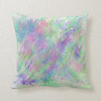 Píntelo púrpura y salude la almohada