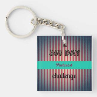 Pinterest Challenge Keychain