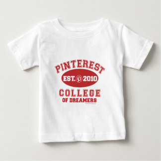 Pinterest College Of Dreamers Baby T-Shirt