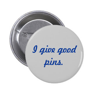 Pinterest Fan - I Give Good Pins Button