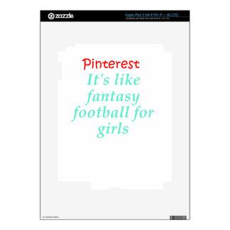 Pinterest iPad 3 Decal