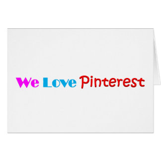 Pinterest Item Fan Made Design Greeting Card