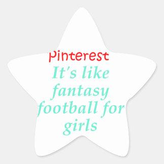Pinterest Star Sticker