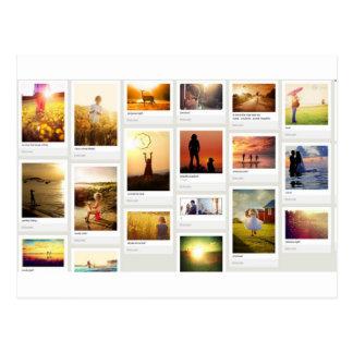 Pinterest temático postales