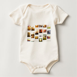 Pinterest Themed Baby Bodysuit