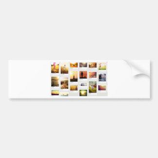 Pinterest Themed Bumper Sticker