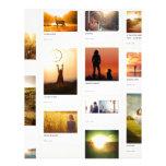 Pinterest Themed Personalized Letterhead