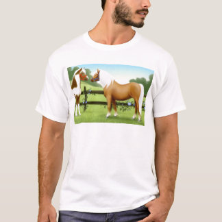 Pinto and Palomino Horse Friends T-Shirt