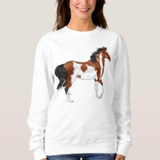 Pinto Arabian Horse Sweatshirt