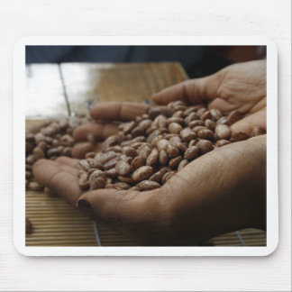 Pinto Beans in Hands Mouse Pad