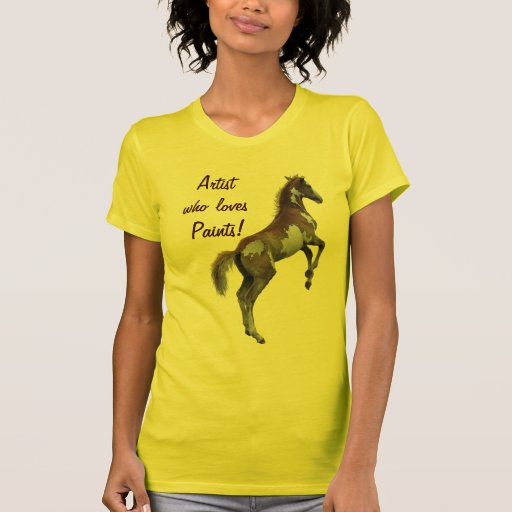 Pinto Crazy Paint Horse-Lover Shirt
