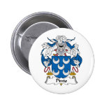Pinto Family Crest Pins