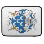 Pinto Family Crest Sleeves For MacBooks