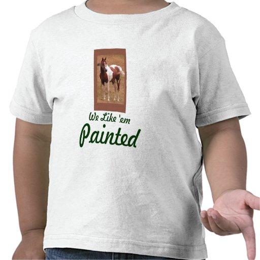 Pinto Horse Shirt