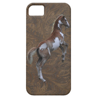 Pinto Pony Tooled Leather-look iPhone 5 Case